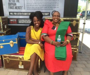 Mama and one of her daughters (Faith Njoki) who is currently pursuing Law at Arizona State University