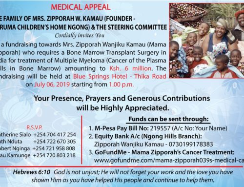 Mama Zipporah Medical Appeal (06-July-2019)
